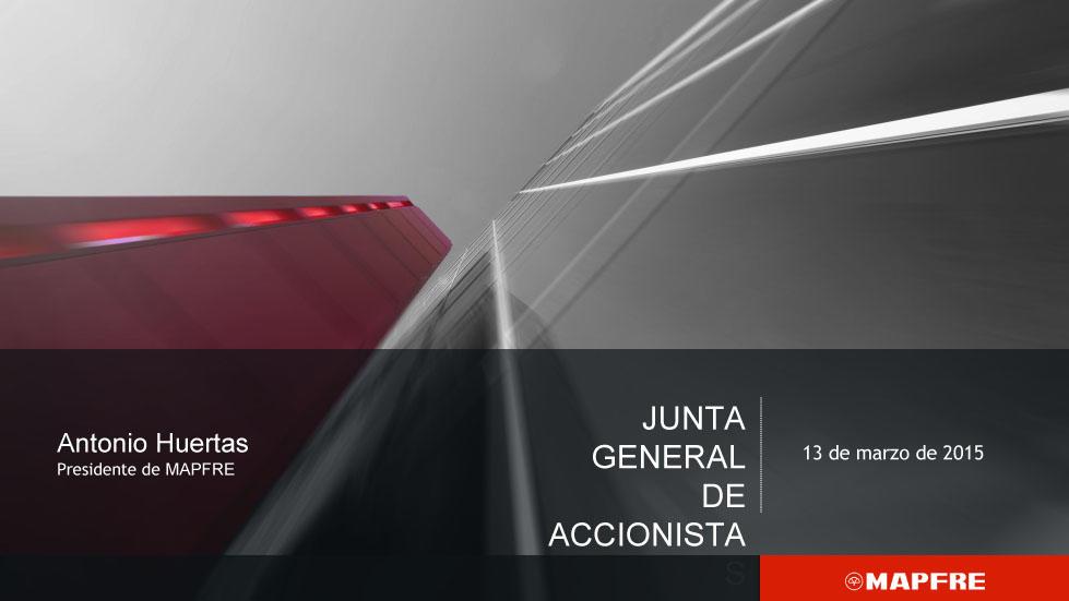 Junta General de Accionistas 2015. Parte 2