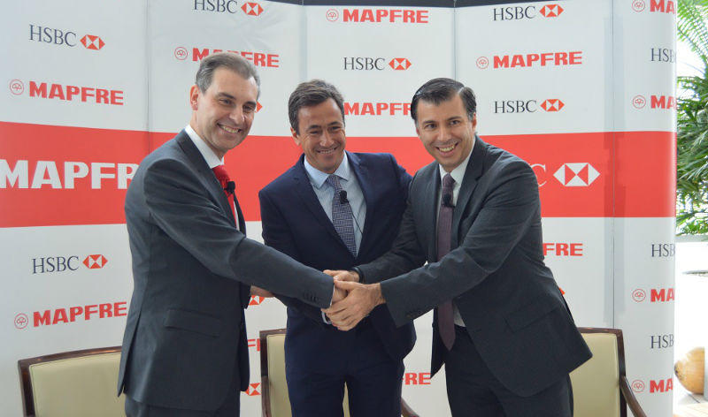 MAPFRE México and HSBC sign a bancassurance alliance agreement