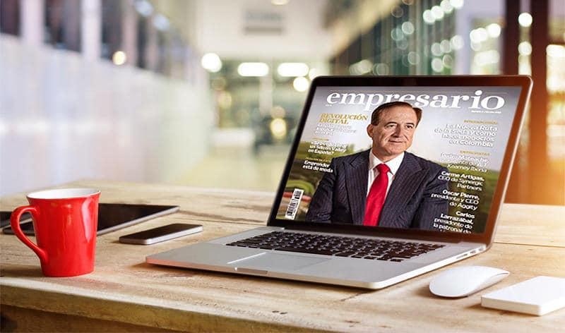 Antonio Huertas revista Empresario