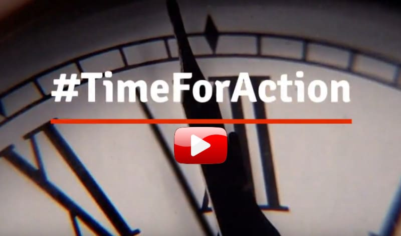 climate change. It's time for action