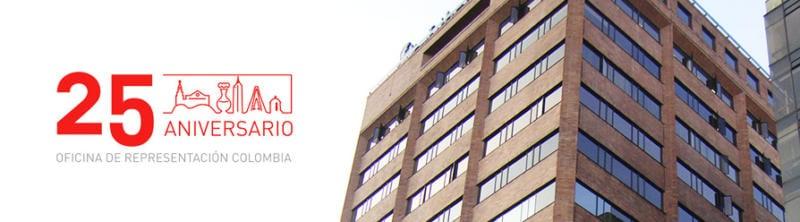 La Oficina de Representación de MAPFRE RE en Colombia celebra su 25 aniversario