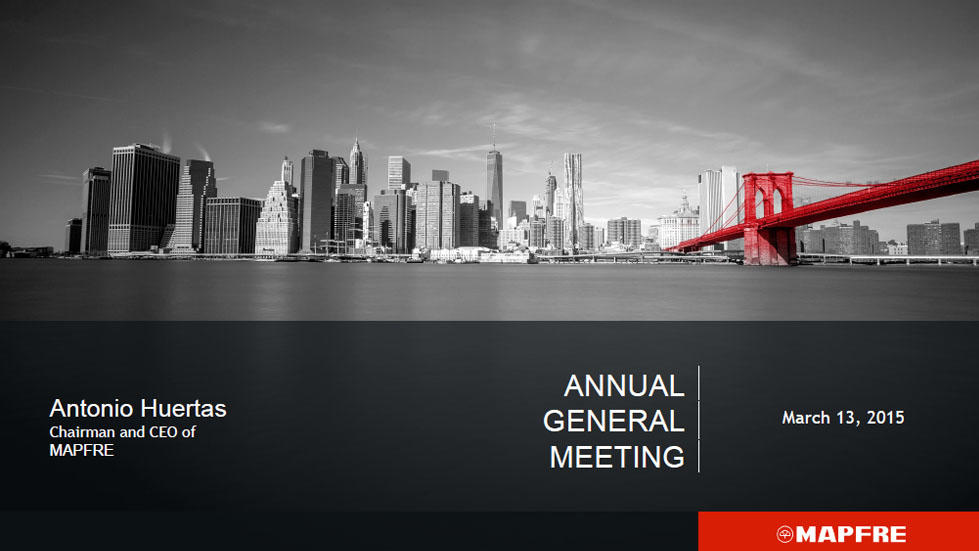 Annual General Meeting. Antonio Huertas. Part 1