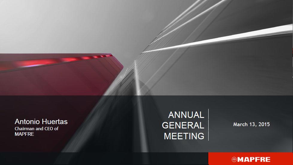 Annual General Meeting 2015. Antonio Huertas. Part 2