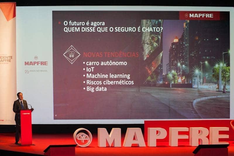 MAPFRE celebra su 25 aniversario en Brasil en Sao Paulo