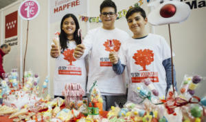 fundación mapfre recauda 30.000 euros para ayudar a personas