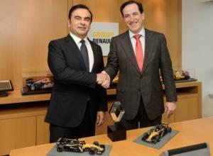 MAPFRE refuerza su acuerdo para convertirse en uno de los patrocinadores principales de Renault y su equipo en Fórmula 1 durante los próximos cinco años