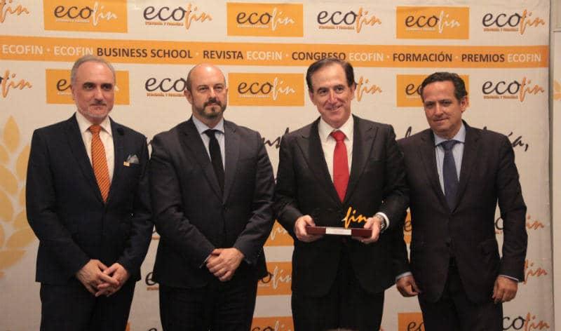 premios ecofin antonio huertas financiero del año 2018 noticias mapfre
