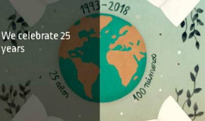 THE WORLD OF MAPFRE 25 years