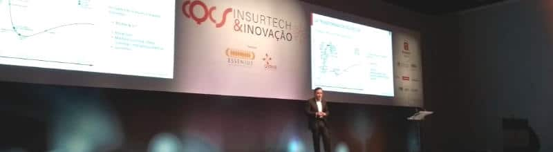 Josep Celaya explica el modelo de innovación de MAPFRE en CQCS Insurtech & Inovação de Sao Paulo