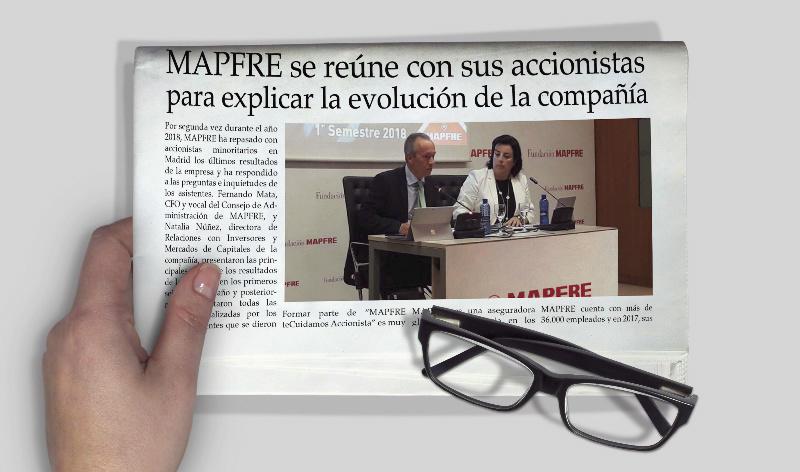 MAPFRE se reúne con sus accionistas para explicar la evolución de la compañía