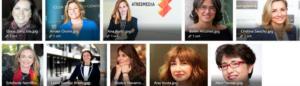 Elena Sanz recibe el premio Top 100 Mujeres Líderes de España