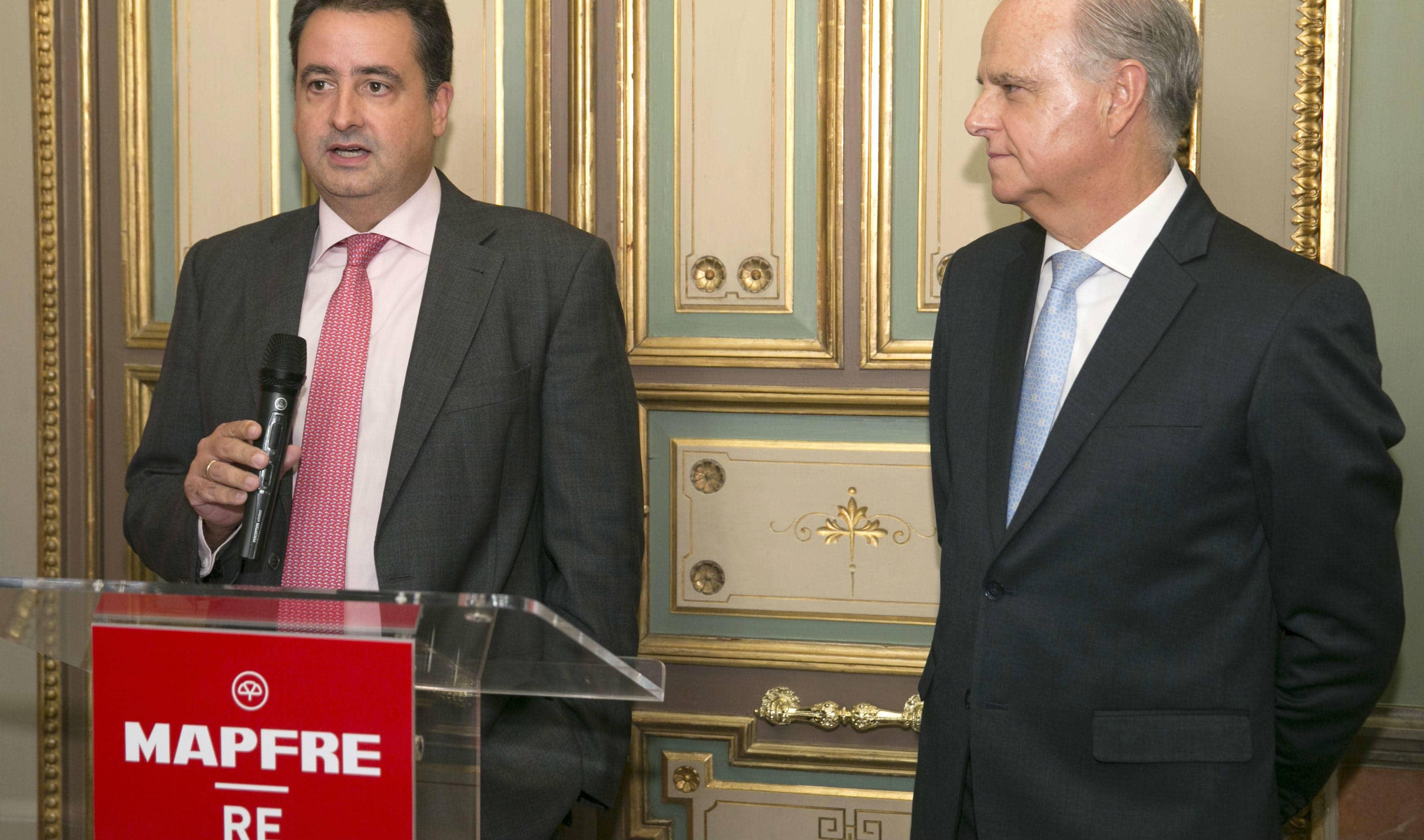 Eduardo Pérez de Lema, CEO de MAPFRE RE