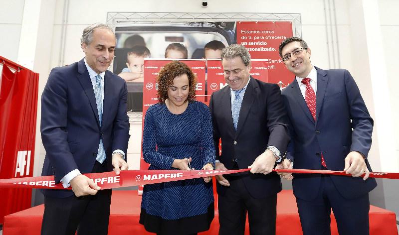 mapfre abre un nuevo centro de servicio del automóvil en asturias