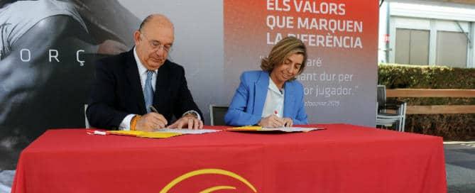 mapfre renueva su acuerdo con la real federación española de tenis